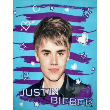 Berber Heart (Justin Bieber Hearts and Stars Super Soft Fleece Throw Blanket 50x60, Super Soft By)