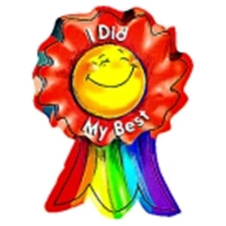Creative Teaching Press 3 x 3.5 in. I Did My Best Smiling Ribbon Rewards, Pack