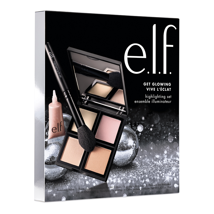 e.l.f. Cosmetics Get Glowing 3 Piece Highlighting Face Holiday Set