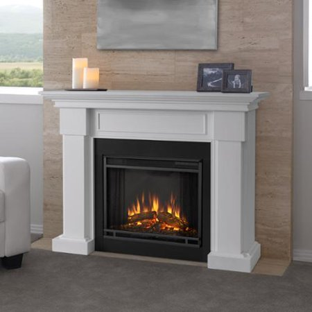 Real Flame Hillcrest White 48 4 In L X 13 9 In D X 39 6