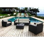 Nevis 5-Piece Deep Seating Sofa Set