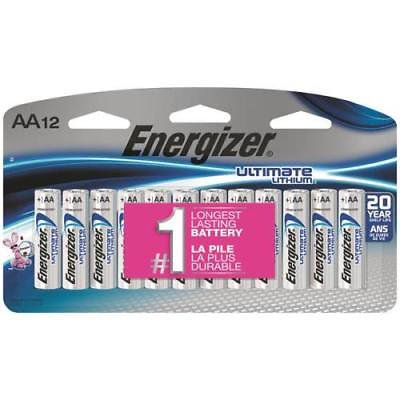 Energizer 12-Pack Lithium  AA  Batteries Energizer 12-Pack Lithium  AA  Batteries