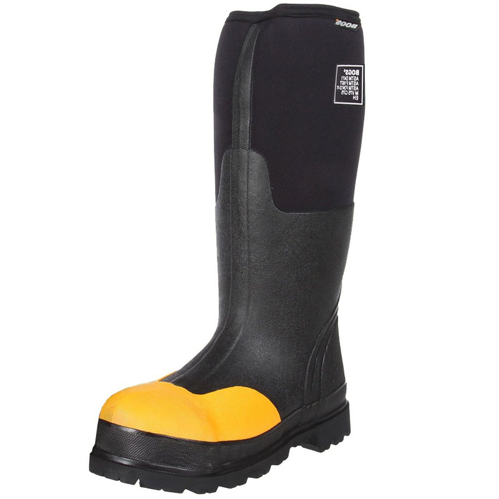 "Bogs Boots Mens Womens 16"" Forge ASTM Steel Toe WP Rubber 69172 by Bogs"