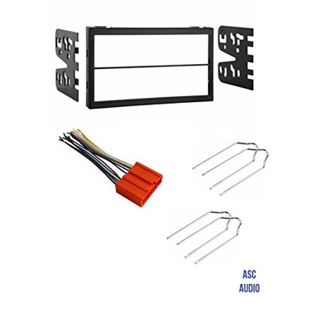 ASC Car Stereo Dash Kit, Wire Harness, and Radio Tool for