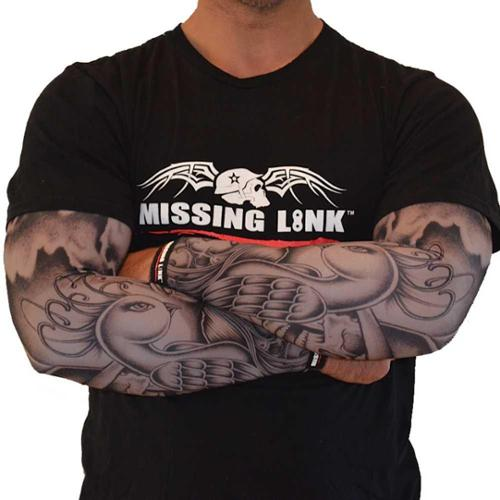 Missing Link SPF 50 Birds of a Feather ArmPro Tattoo Compression Sleeves - APBF