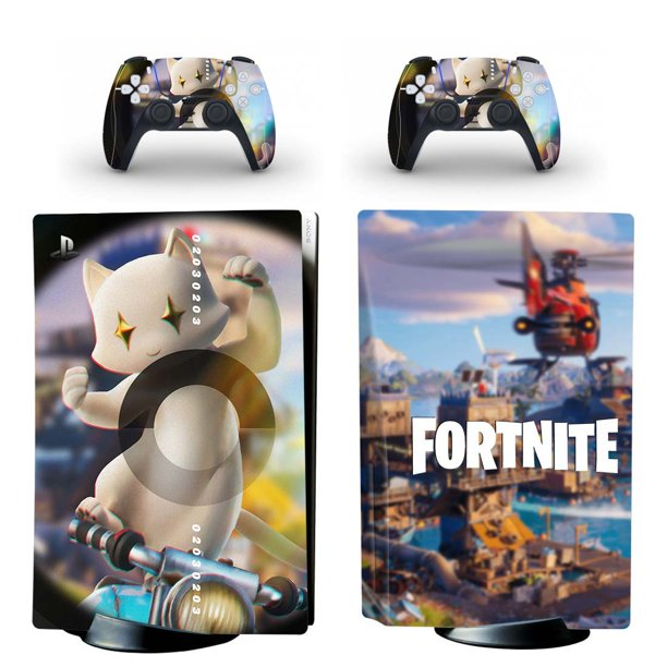 Ps5 Controller Skins Fortnite Ps5 Console Controllers Vinyl Skin Decal Stickers Protective Fortnite Kitty Cat For Playstation 5 Digital Edition Walmart Com Walmart Com