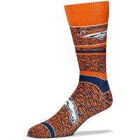 Denver Broncos For Bare Feet Women's Game Time Crew Socks