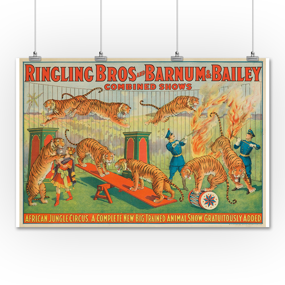Lantern Press Ringling Bros and Barnum & Bailey - African...