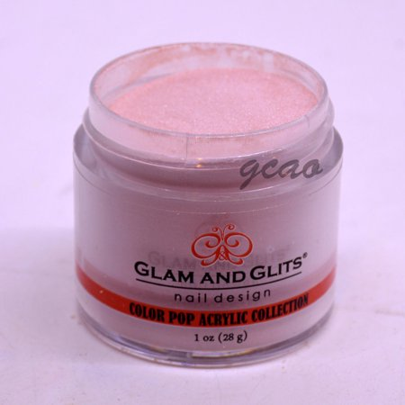 Glam and Glits Color Acrylic Powder, Almost Nude-359, 1