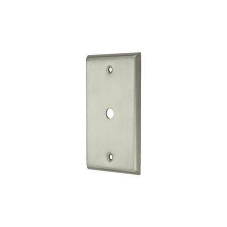 - Cable Cover Plate (Polished Brass)