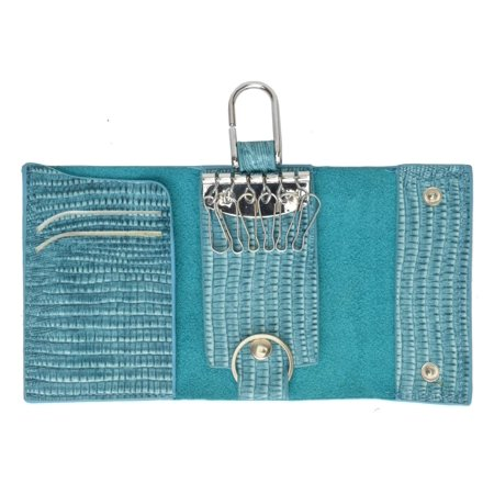 Keyring Holder Key Chain Case Genuine PU Leather 11-450 (C)