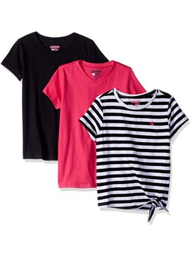 4cb4f6e75bf8f Product Image Side Tie StripeV-neck and Crew Tees