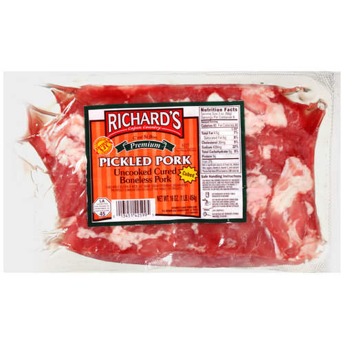 Richard's Cajun Country Pickled Pork, 16 oz