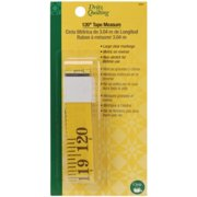 Dritz 3097 Quilting 120-Inch Tape Measure