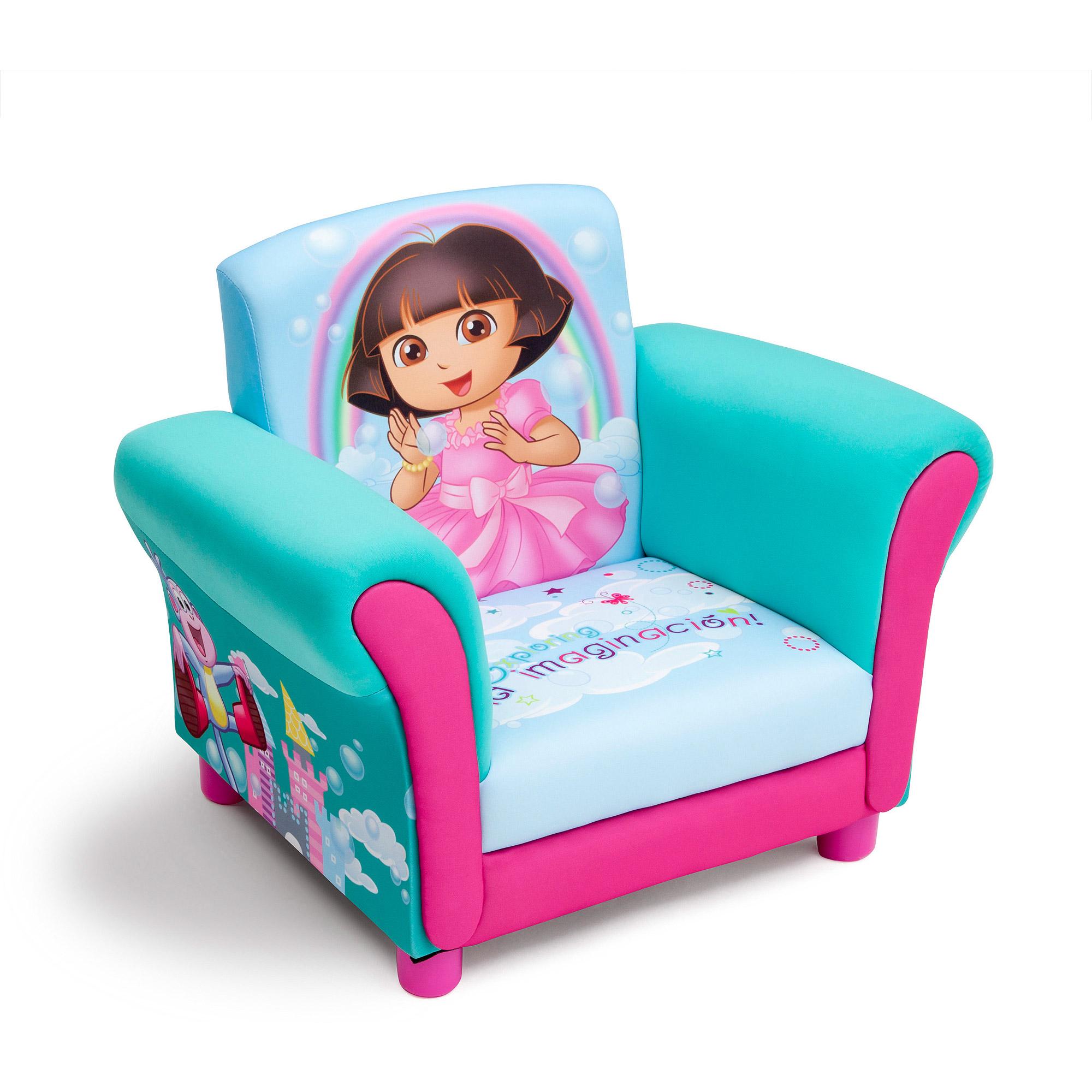 Nick Jr. Dora the Explorer Kids Upholstered Chair by Delta Children