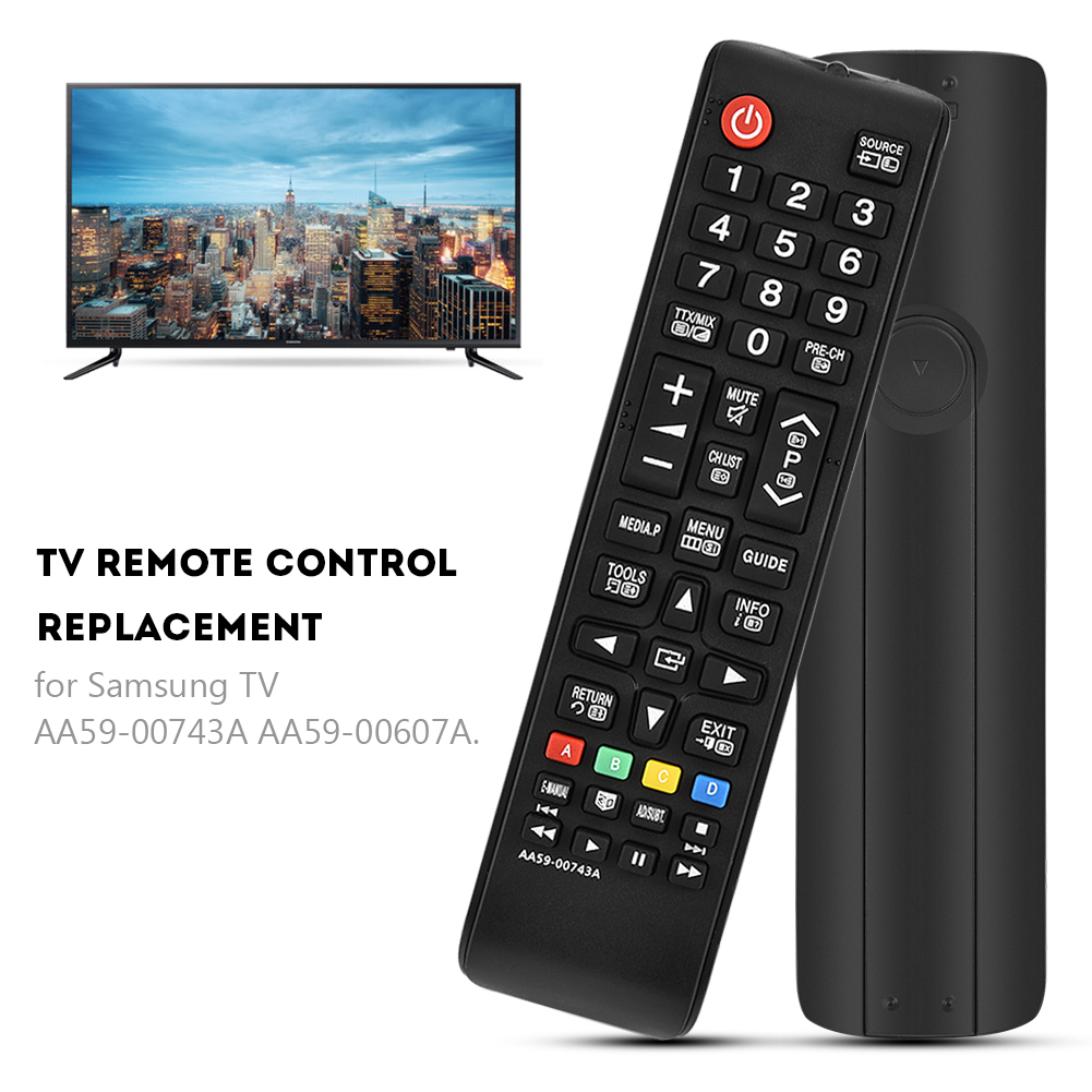 Remplacement Telecommande Universelle Samsung AA59-00741A Telecommande Samsung pour Samsung LED LCD Smart TV BN59-01175N AA59-00602A BN59-01247A