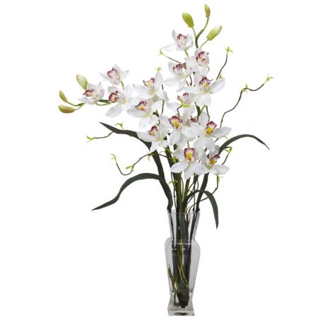 Cymbidium Silk Flower Arrangement - image 1 de 1