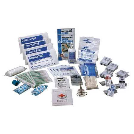 FIRST AID ONLY 90586 First Aid Kit Refill,Brown,6-3/16in.D G2101639