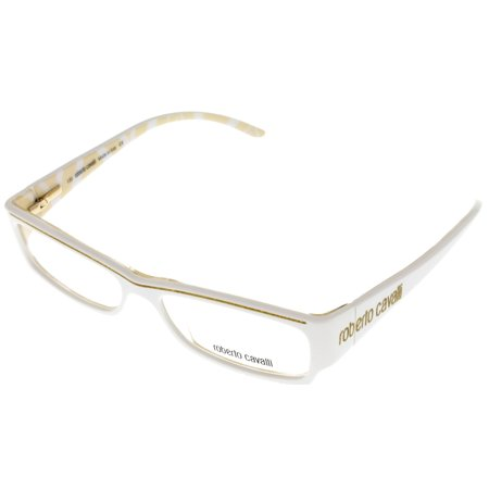 be05db2ccc4 Roberto Cavalli Prescription Eyeglasses Frame Women RC 280 L66 White Zebra  Gold Rectangle - Walmart.com