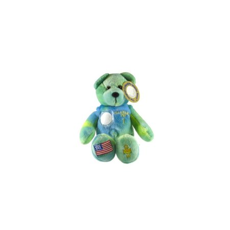 - Delaware State Quarter Bear Collectible Stuffed Bear by Timeless Toys