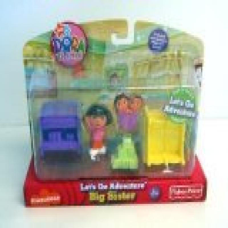 Dora the explorer Let's go adventure Big sister play set ~ 5 Pieces by