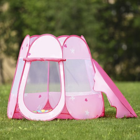 Kids Princess Playhouse Play Tent Toddler Toys In Outdoor