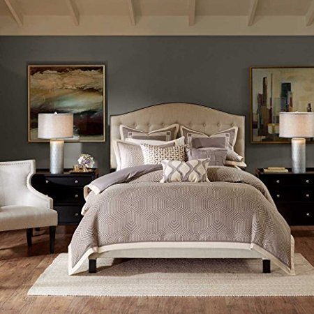 Shades of Grey Comforter Set by Madison Park Signature (King/Cal King)