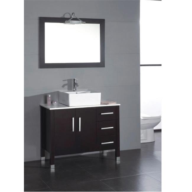 Cambridge Plumbing 8118 40 In. Bathroom Vanity Set