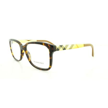 b36c0c803e3f BURBERRY Eyeglasses BE 2143 3002 Havana 53MM - Walmart.com