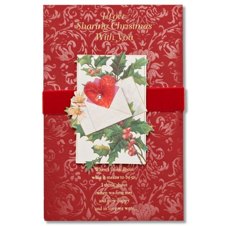 American greetings christmas with you sentimental christmas card american greetings christmas with you sentimental christmas card with rhinestone m4hsunfo