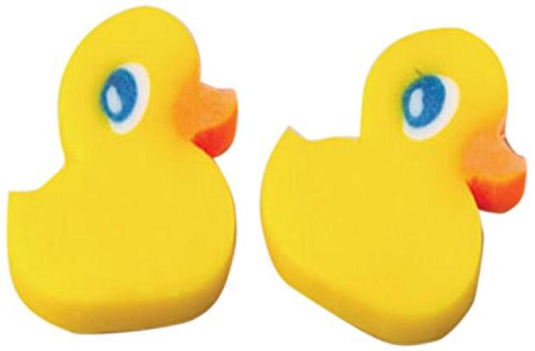 Ducky Erasers by US Toy