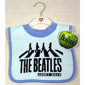 Beatles Bib ABBEY ROAD ~ BLUE ()