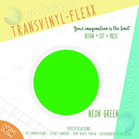 Heat Transfer HTV Iron On Vinyl Roll 12 X 10 Transvinyl Flexx CHOOSE COLORS