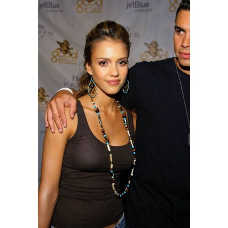 Jessica Alba Cash Warren At Arrivals For Kanye West GOOD Music Mtv Vma Pre-Party The Shore Club Miami Fl August 27 2005 Photo By Ricky McgillEverett Collection Celebrity - Bath Club Miami Halloween Party