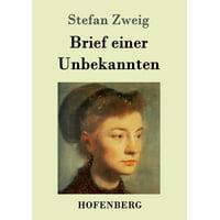Brief Einer Unbekannten (Paperback)