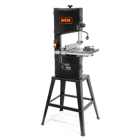 WEN 3962 Two-Speed Band Saw with Stand and Worklight,