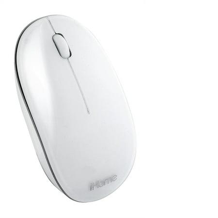 1add840015c Lifeworks iHome Bluetooth Mouse for Mac White IMAC-M110W - Walmart.com