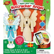 MasterPieces Works of Ahhh?Nutcracker Angel Holiday Wood Paint Kit