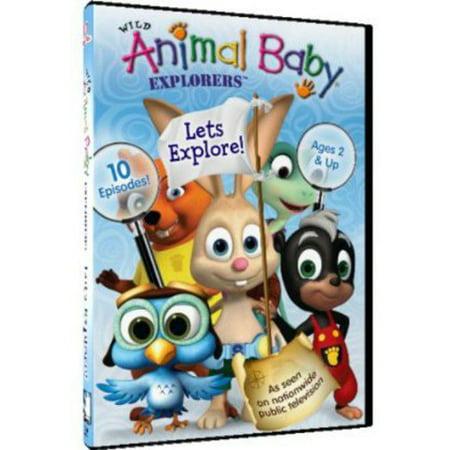 Wild Animal Baby Explorers: Let's Explore! (DVD)