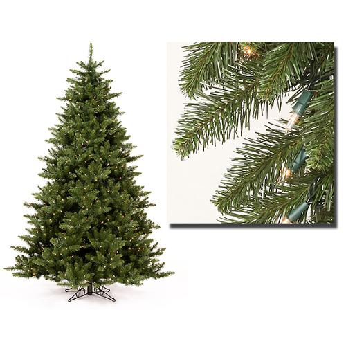 9.5' Pre-Lit Full Camdon Fir Artificial Christmas Tree - Clear Dura Lit Lights