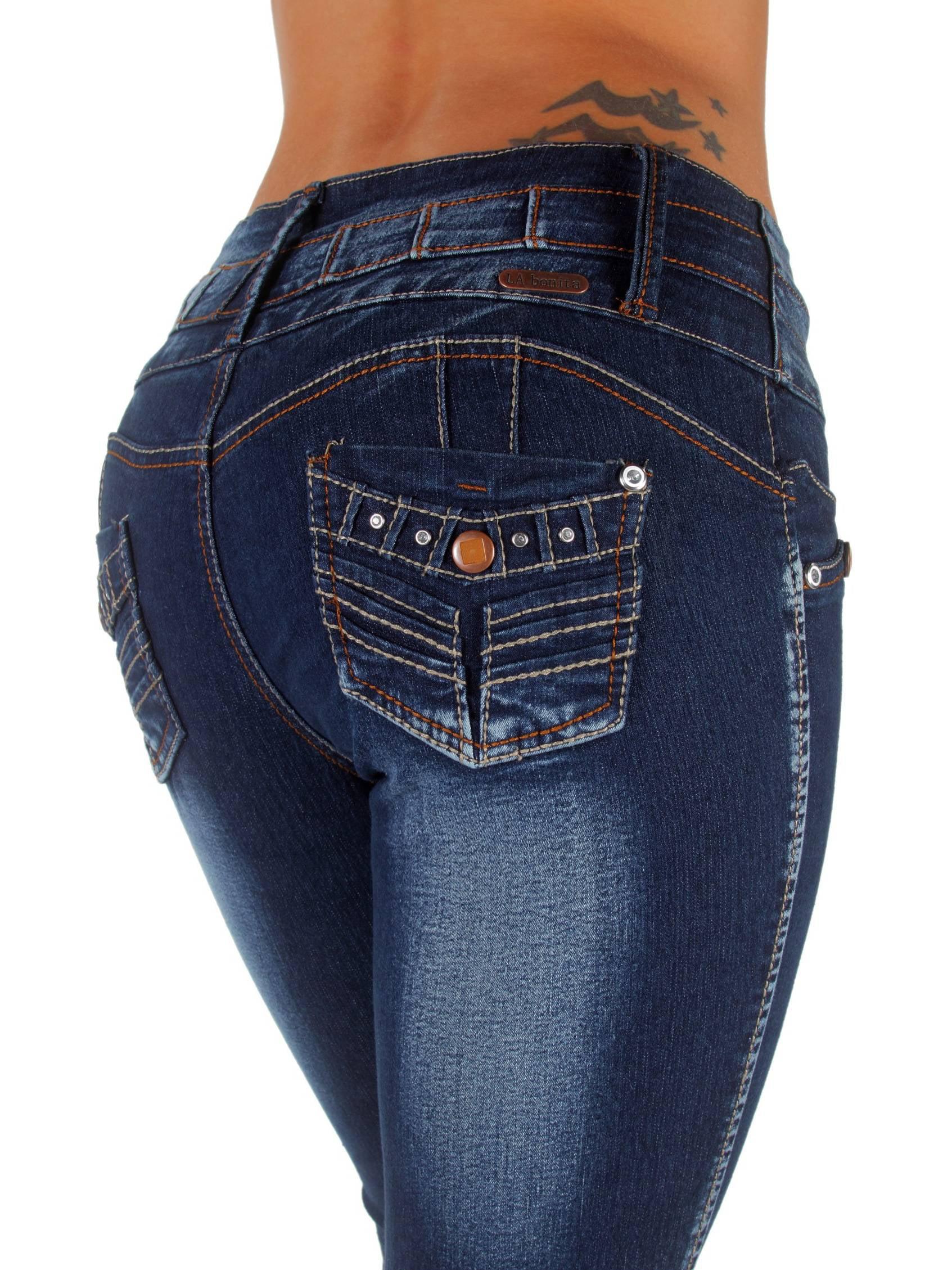 Plus Size, Colombian Design, Mid Waist, Butt Lift Skinny Jeans