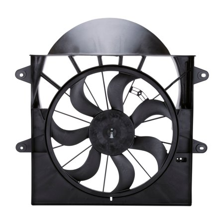 TYC 621220 Dual Radiator and Condenser Fan Assembly for Chrysler 5143208AA im