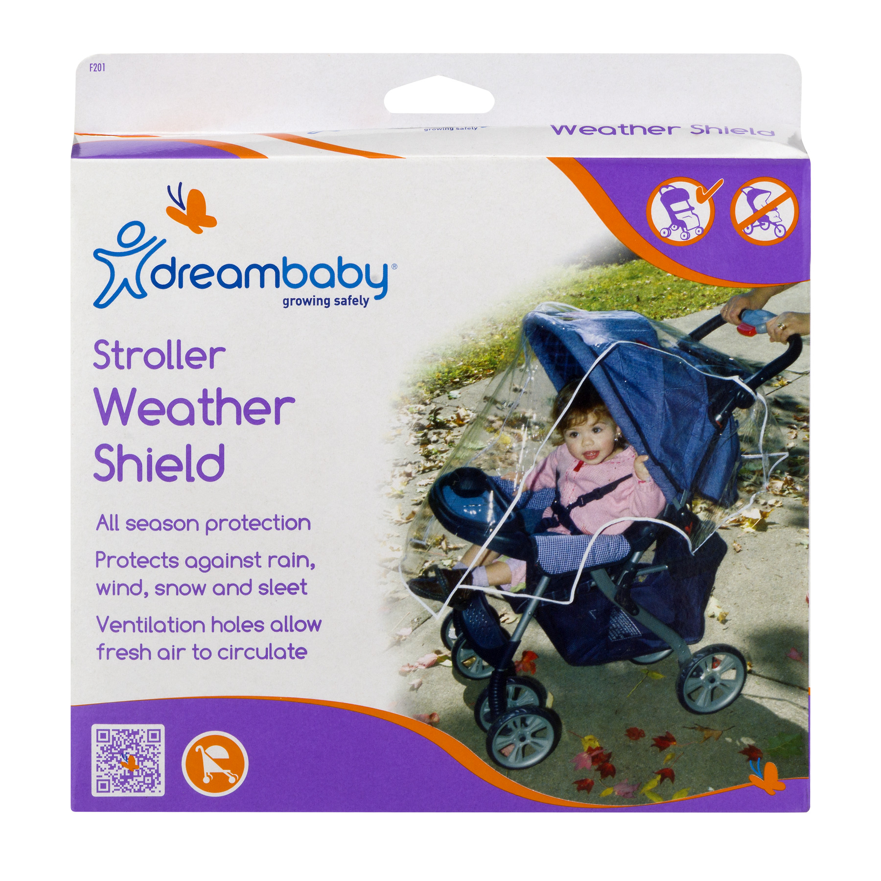 Dreambaby Stroller Weather Shield, 1.0 CT