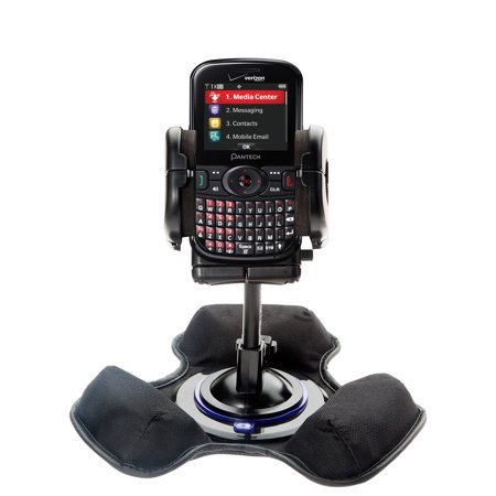 Car   Truck Vehicle Holder Mounting System For Pantech Caper Includes Unique Flexible Windshield Suction And Universal Dashboard Mount Options