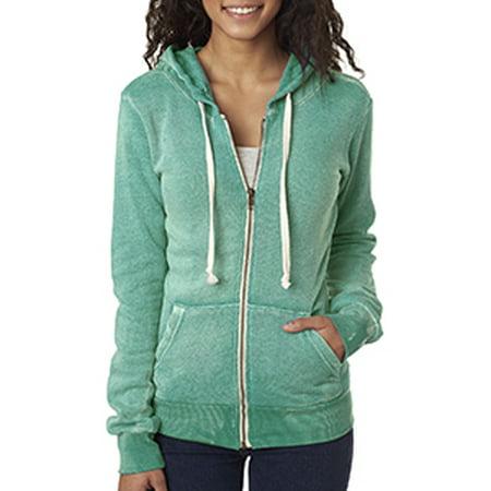 Angela Sweater (MV Sport - Women's Angel Fleece Hooded Full-Zip Sweatshirt - W2350 )