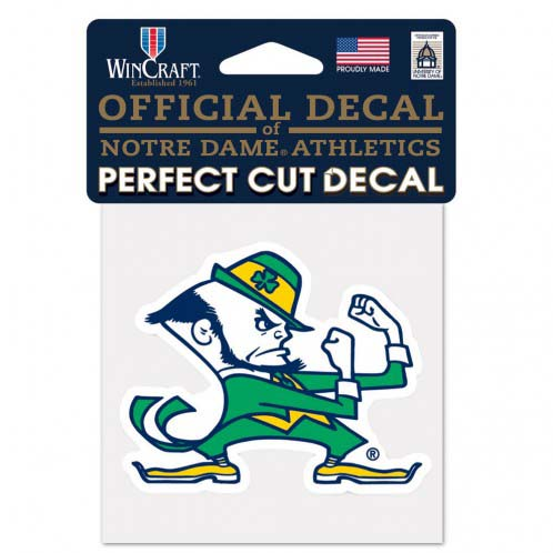 Notre Dame Fighting Irish 4X4 Color Die Cut Decal