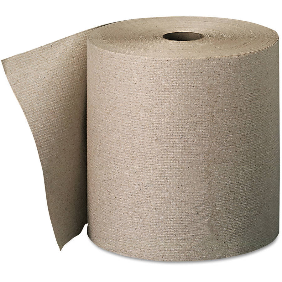Georgia Pacific Envision High-Capacity Nonperforated Brown Paper Towel, 6 ct
