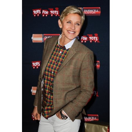 Ellen Degeneres In Attendance For Duracell Power A Smile Holiday Donation To Toys For Tots Van Nuys Airport Van Nuys Ca November 22 2013 Photo By Sara CozolinoEverett Collection (Church On The Way Van Nuys California)