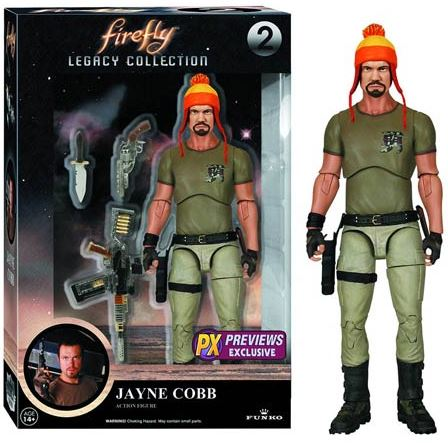 Firefly Legacy Collection Jayne Cobb With Hat Action Figure MAR152150I
