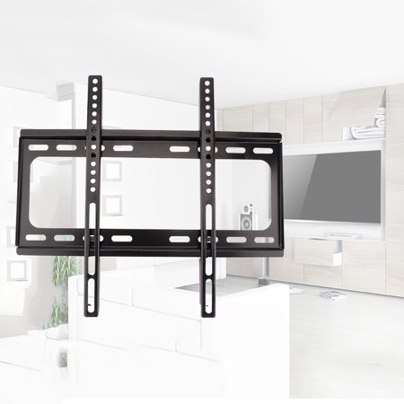 Ymiko TV Wall Mount Bracket Stand Fits 35 40 45 50 55 Inches LCD LED Displays TVs Flat TV Wall Mount Bracket